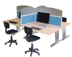 bureau acoustique open space